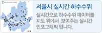 서울시 실시간 하수수위 현황 인포그래픽
