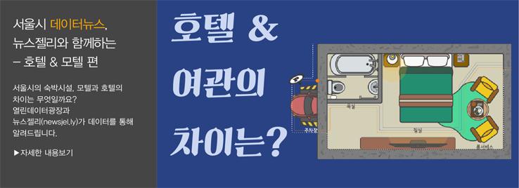 서울시 숙박업소, 모텔과 호텔의 차이?